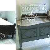 Vieux meubles relookés shabby chic